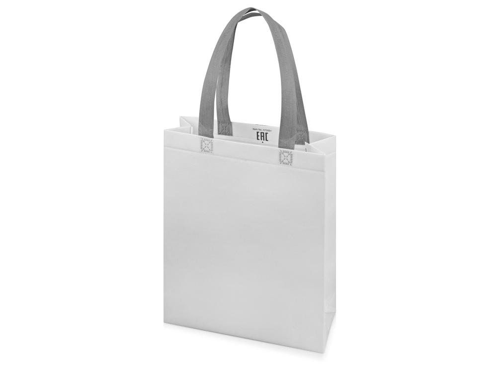 Сумка для шопинга «Utility» ламинированная, белый матовый