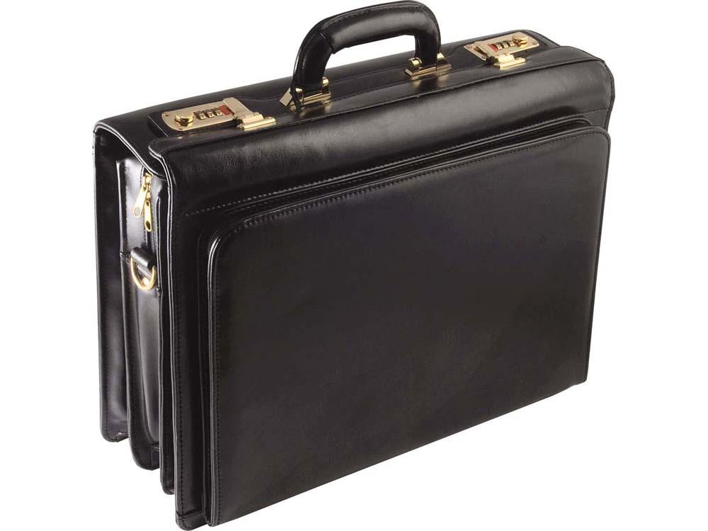 Портфель «Министр» S.Babila, черный