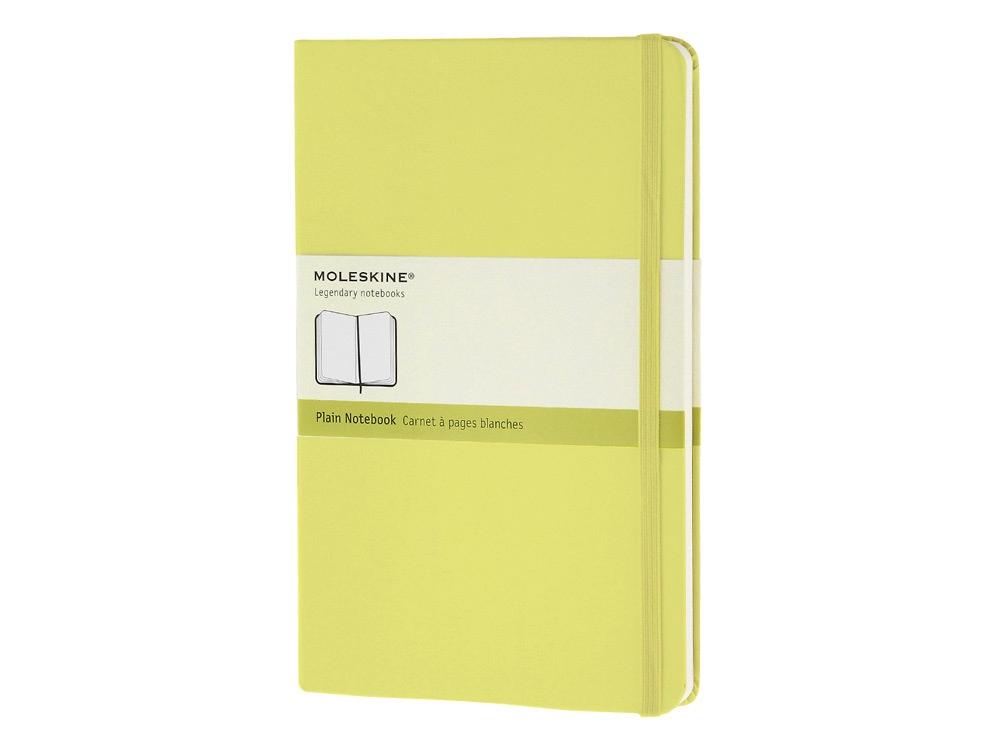 Записная книжка Moleskine Classic (нелинованный) в твердой обложке, Large (13x21см), цитрусовый