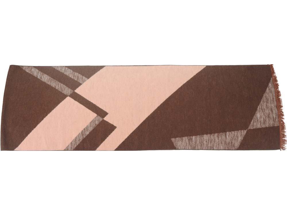 Шарф «Парламент», коричневый/бежевый