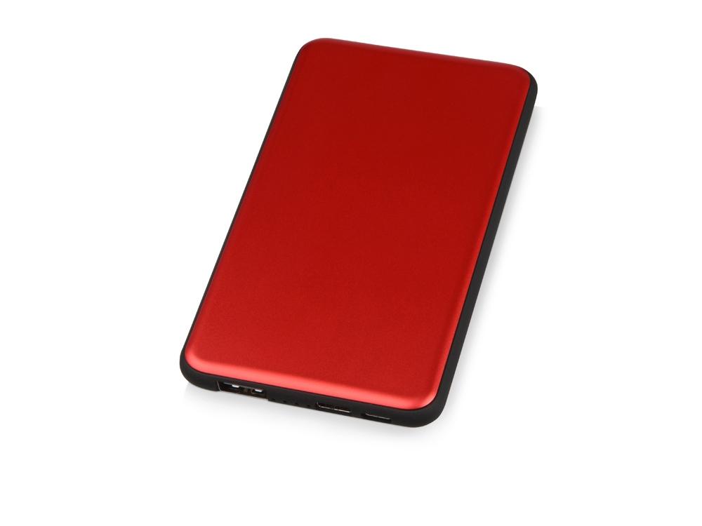 Портативное зарядное устройство «Shell», 5000 mAh, красный