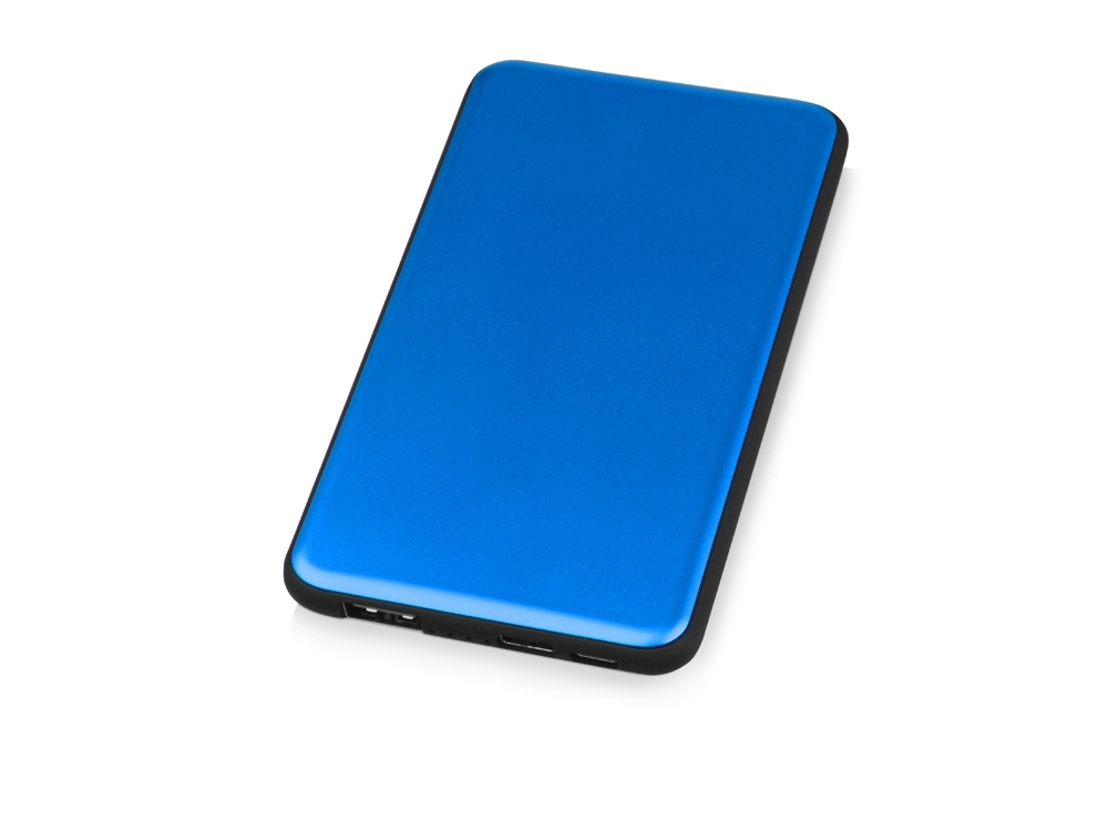 Портативное зарядное устройство «Shell», 5000 mAh, синий