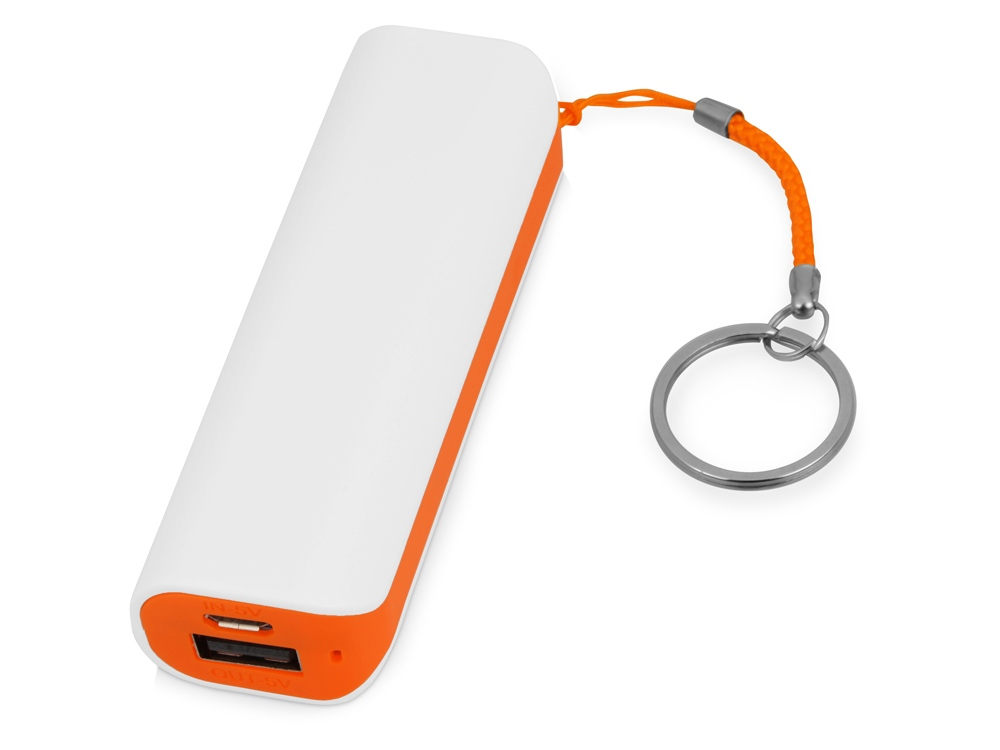 Портативное зарядное устройство (power bank) Basis, 2000 mAh, оранжевый
