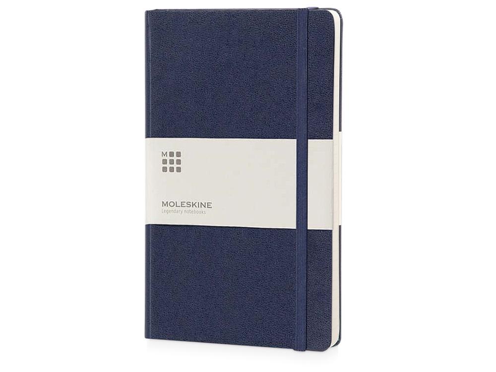 Записная книжка Moleskine Classic (в линейку) в твердой обложке, Pocket (9x14см), синий
