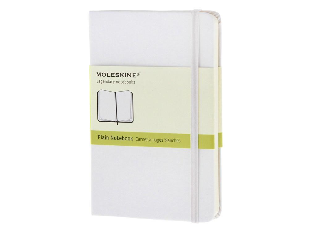 Записная книжка Moleskine Classic (нелинованный), Pocket (9х14 см), белый