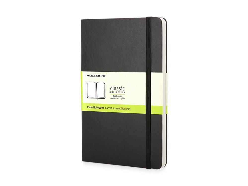 Записная книжка Moleskine Classic (нелинованный), Pocket (9х14 см), черный