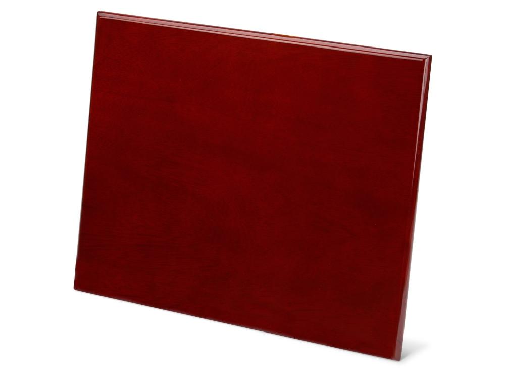 Плакетка наградная красное дерево
