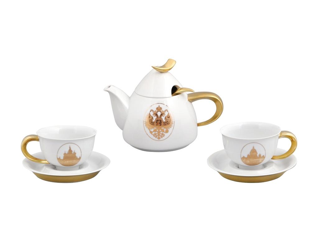 Чайный сервиз на 2 персоны