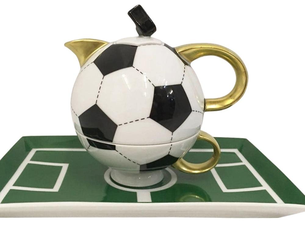Подарочный набор Футбол 1 перс. 3пр. Rudolf Kampf, белый/черный/золотистый/зеленый