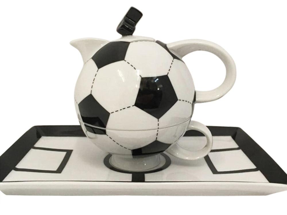Подарочный набор Футбол 1 перс. 3пр. Rudolf Kampf, белый/черный