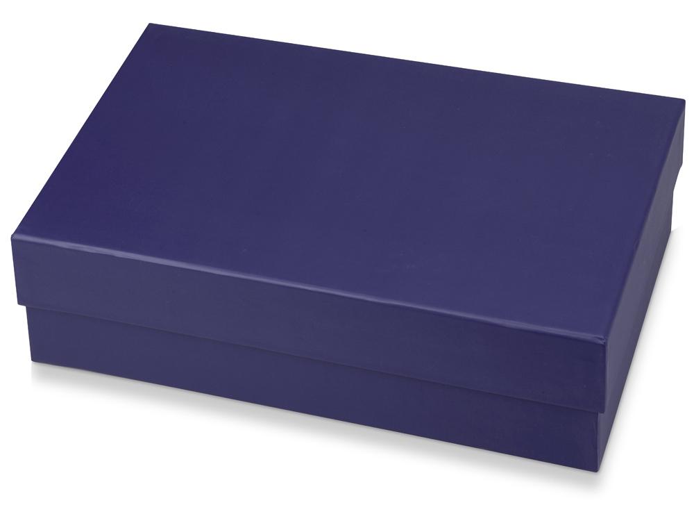 Подарочная коробка Corners большая, синий