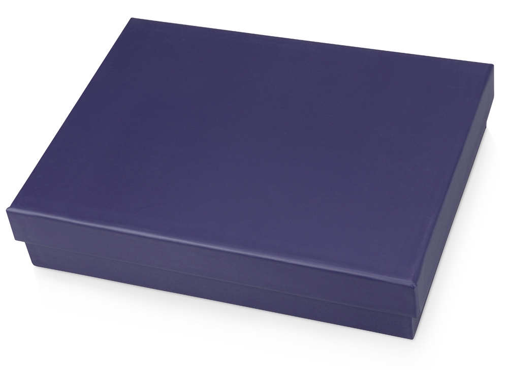 Подарочная коробка Corners средняя, синий