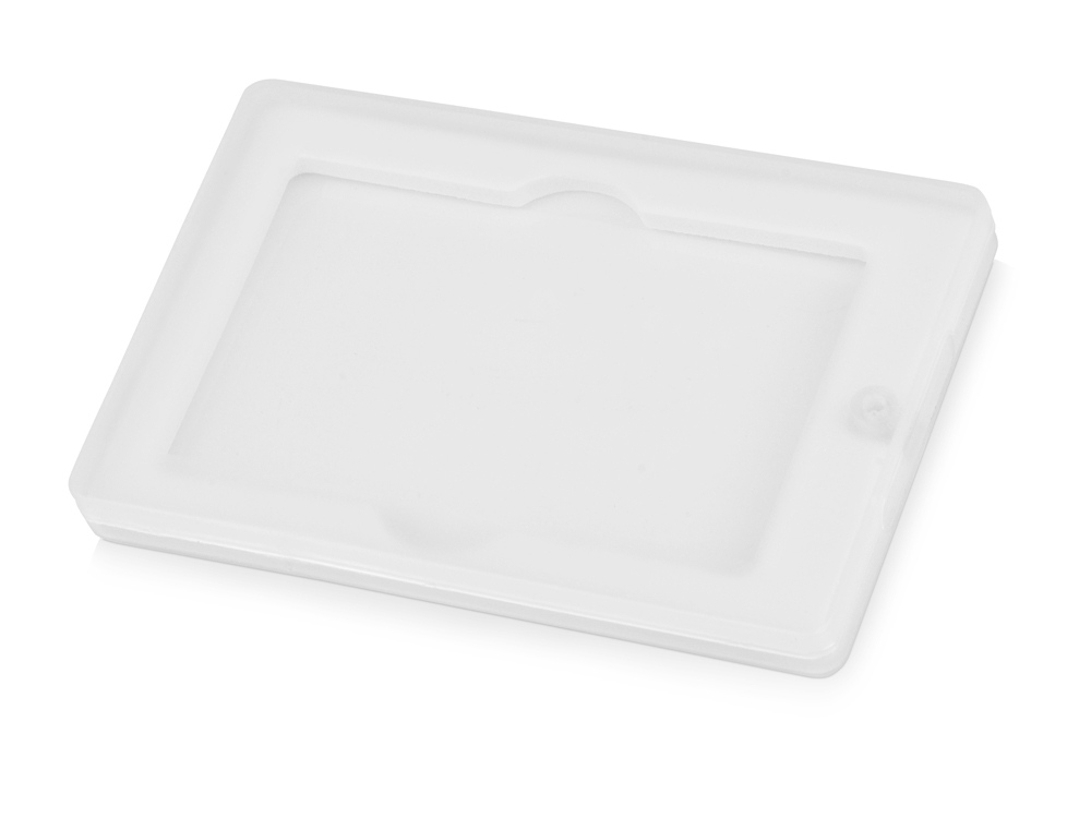 Коробка для флеш-карт «Cell», белый/прозрачный