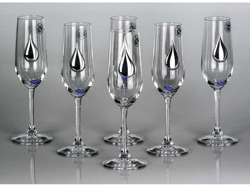 Набор бокалов для шампанского «Siberian Light»