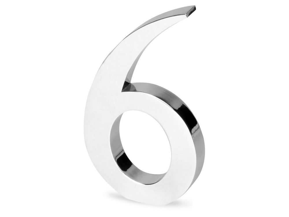 Цифра «Шесть» для часов 628089 и 628099, серебристый