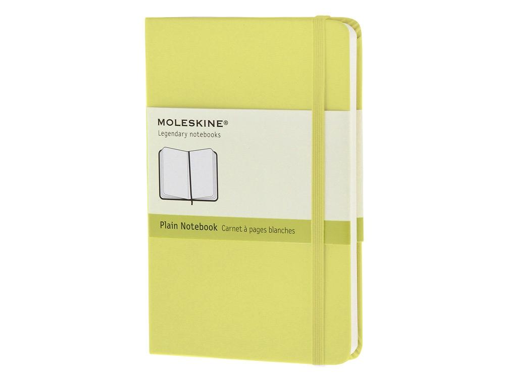 Записная книжка Moleskine Classic (нелинованный) в твердой обложке, Pocket (9x14см), цитрусовый