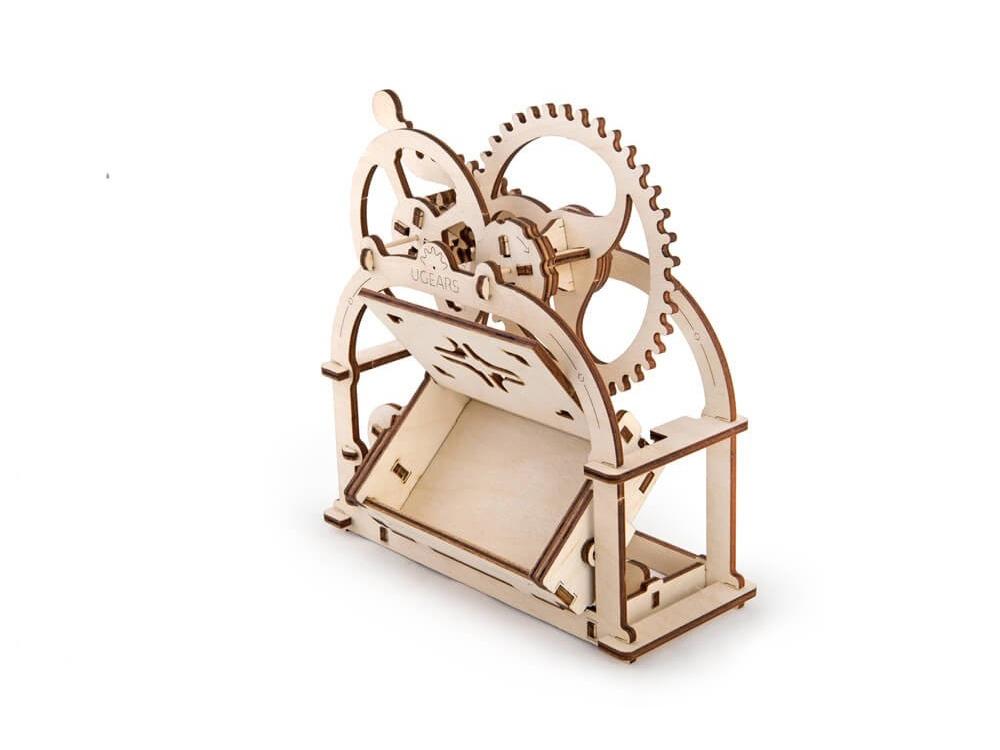 3D-ПАЗЛ UGEARS Механическая Шкатулка
