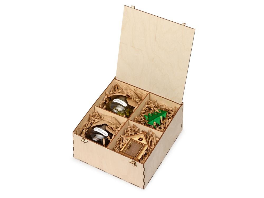 Подарочный набор Decoration Deluxe с двумя видами варенья, натуральный