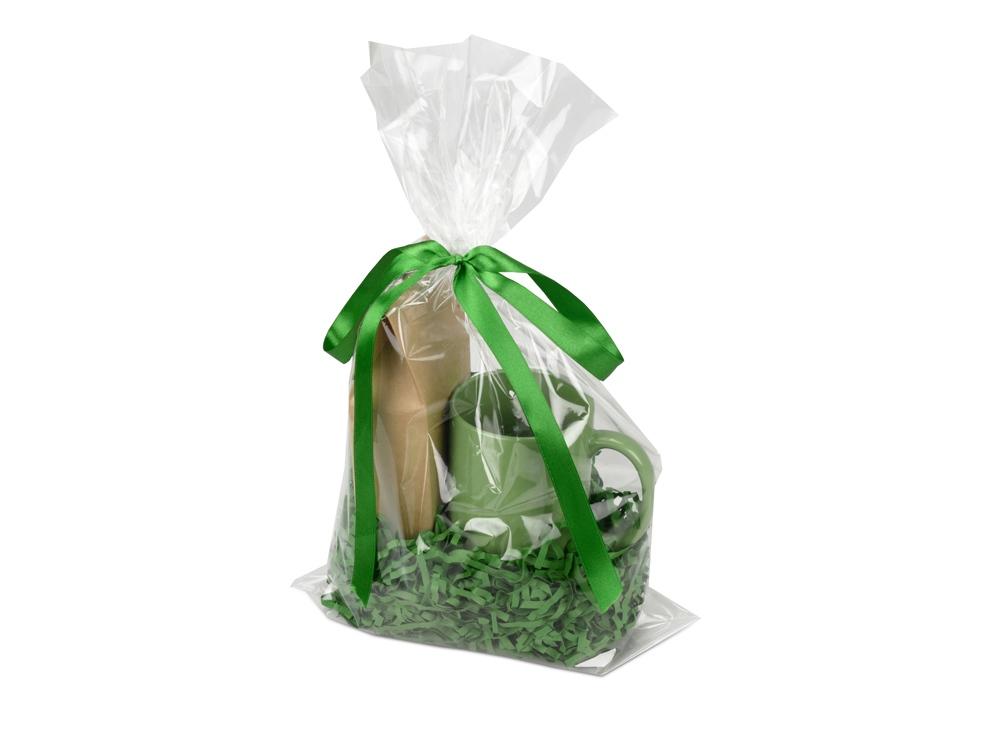 Подарочный набор «Tea Cup» с чаем, зеленый