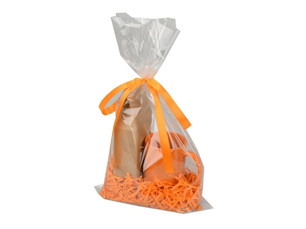 Подарочный набор «Tea Cup» с чаем, оранжевый