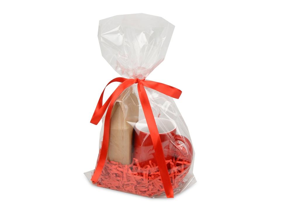 Подарочныйнабор«Mattina» с кофе,красный