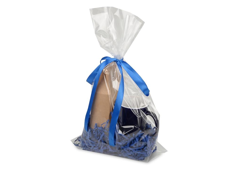 ПодарочныйнаборMattina с кофе,синий