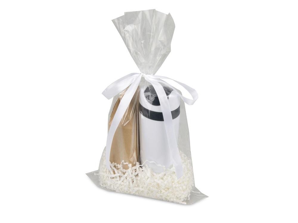 Подарочный набор Tea Cup Plus с чаем, белый