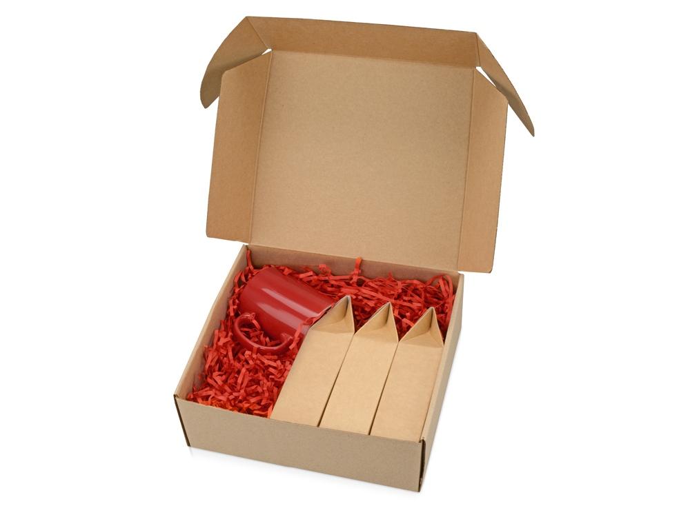 Подарочный набор Tea Trio Superior с тремя видами чая, красный