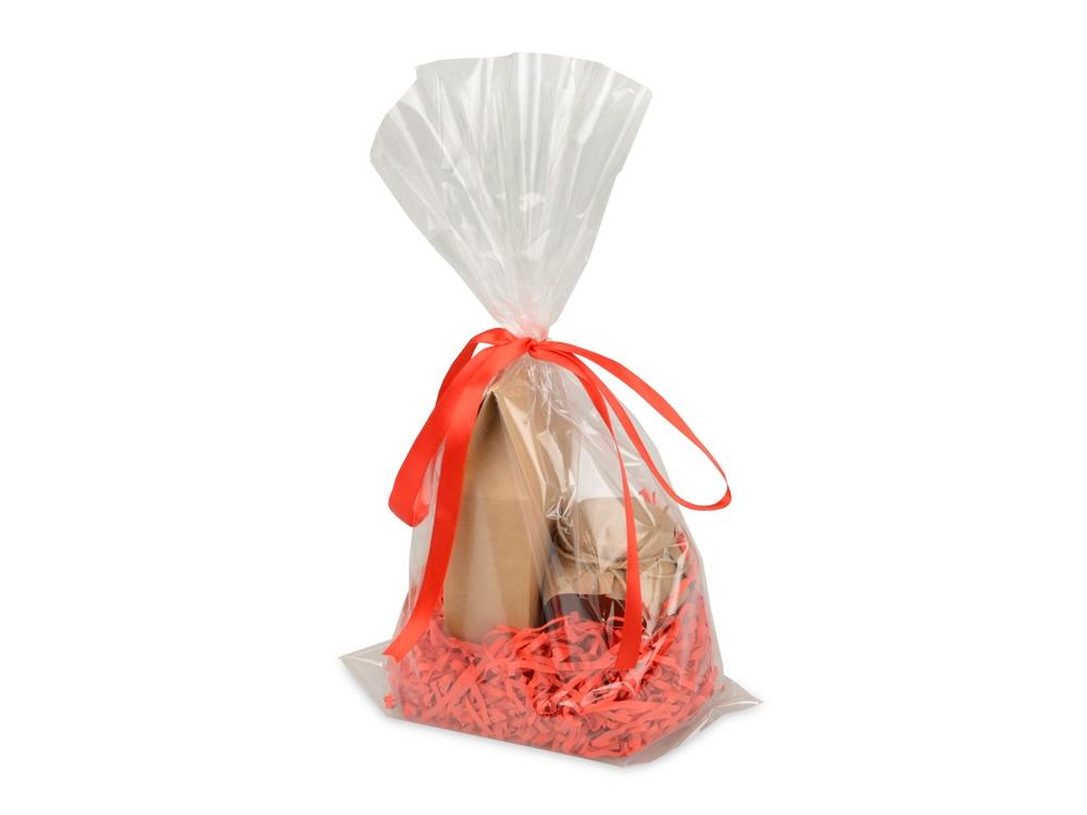 Подарочныйнабор«Fiore» с мёдом и чаем, красный