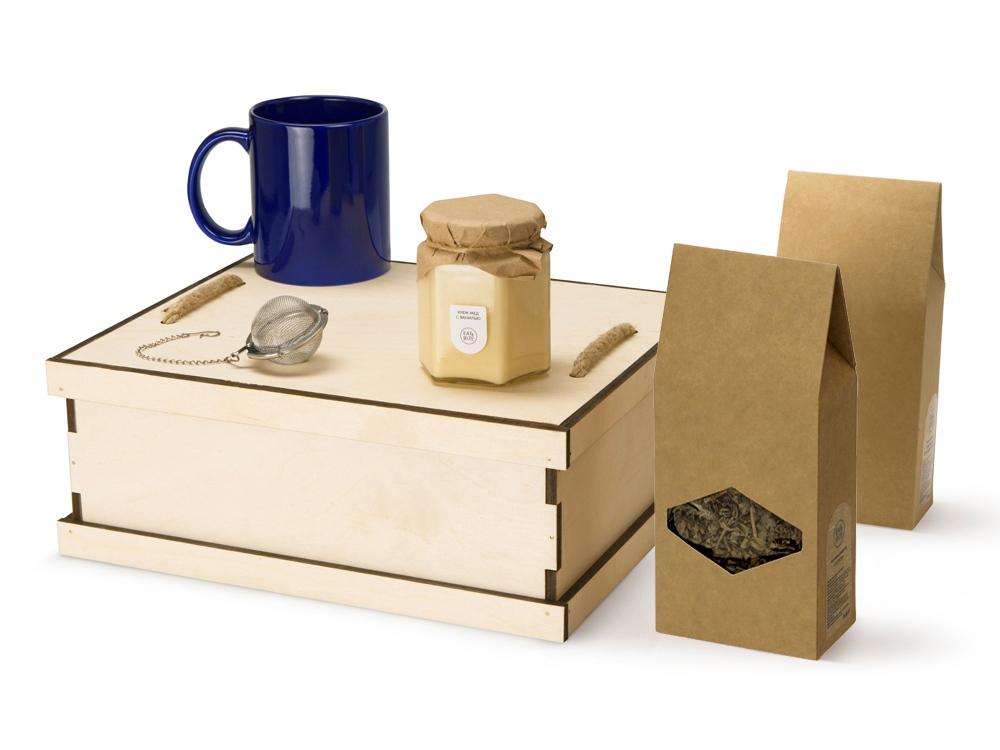 Подарочный набор Tea Duo Deluxe, синий