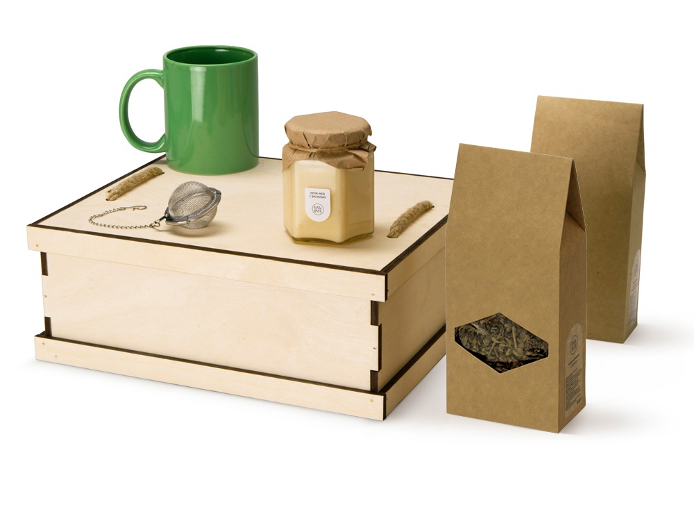 Подарочный набор Tea Duo Deluxe, зеленый