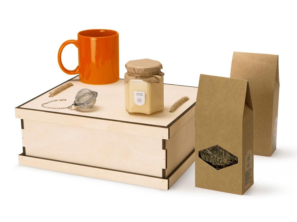 Подарочный набор Tea Duo Deluxe, оранжевый