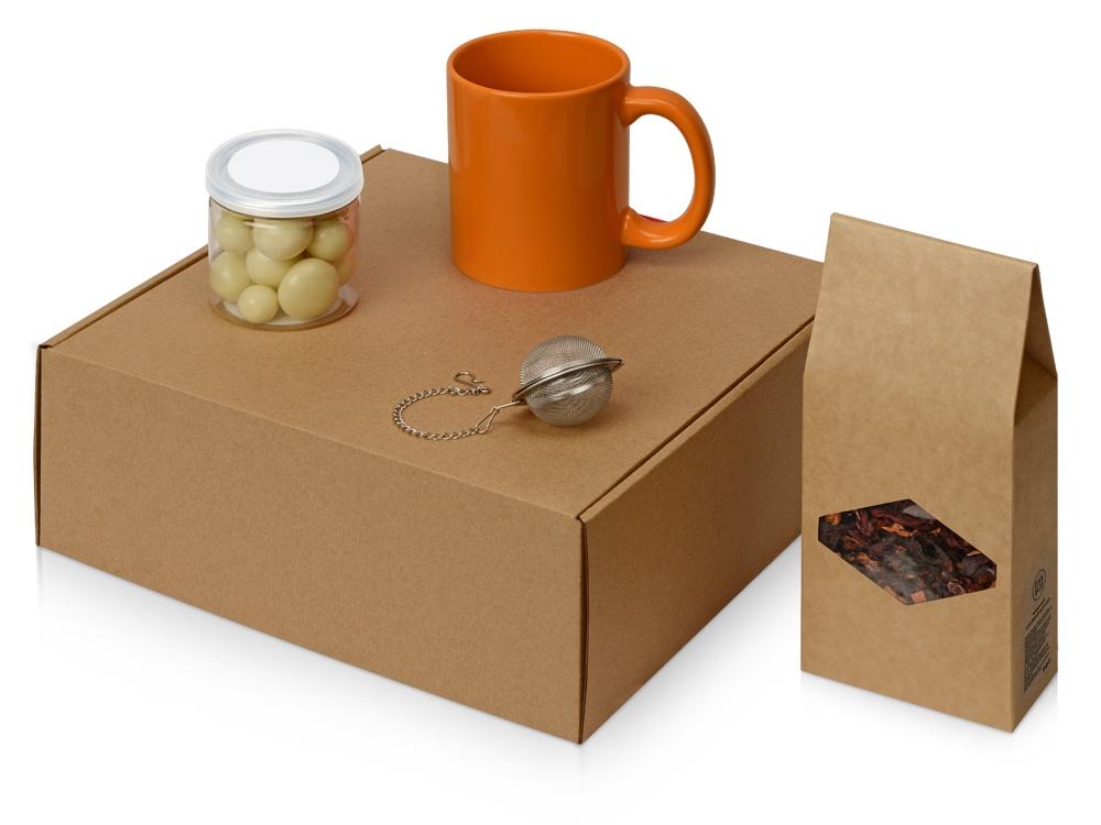Подарочный набор Tea Cup Superior, оранжевый