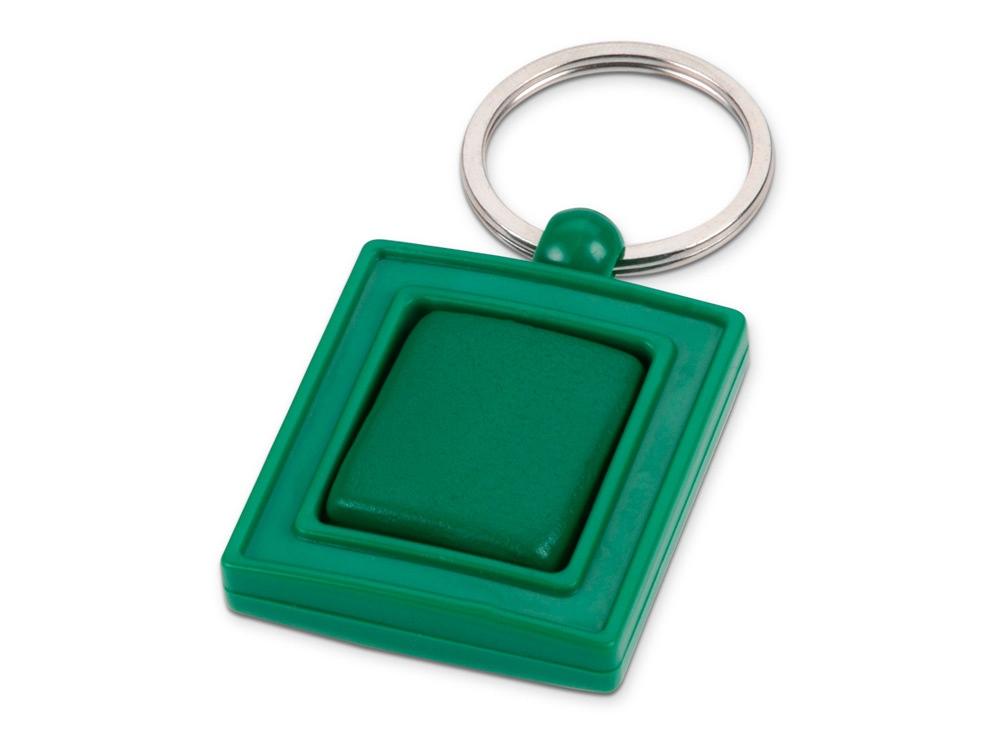 Брелок с вращающимся элементом, зеленый