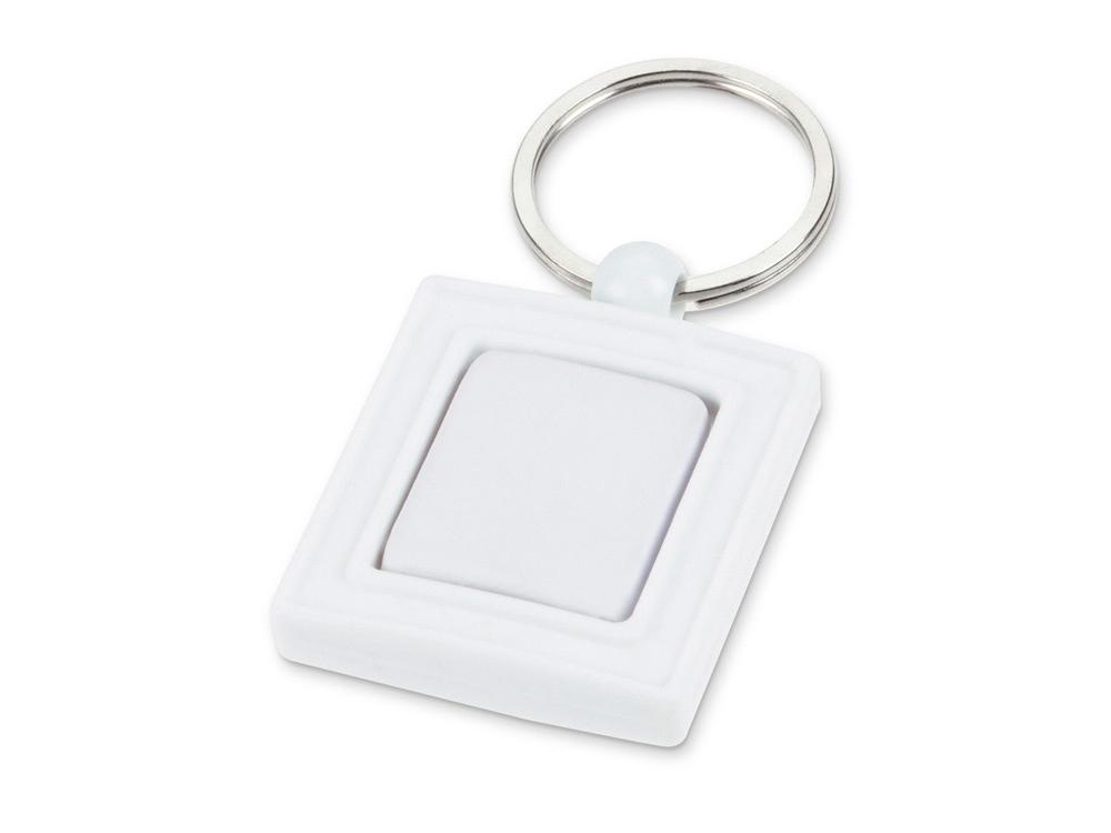Брелок с вращающимся элементом, белый