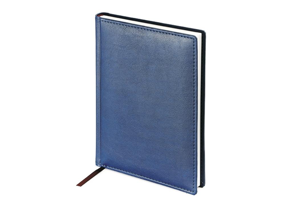 Ежедневник А5 недатированный Leader, синий
