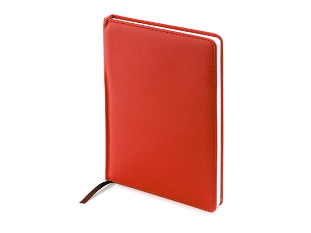 Ежедневник А5 недатированный Leader, красный