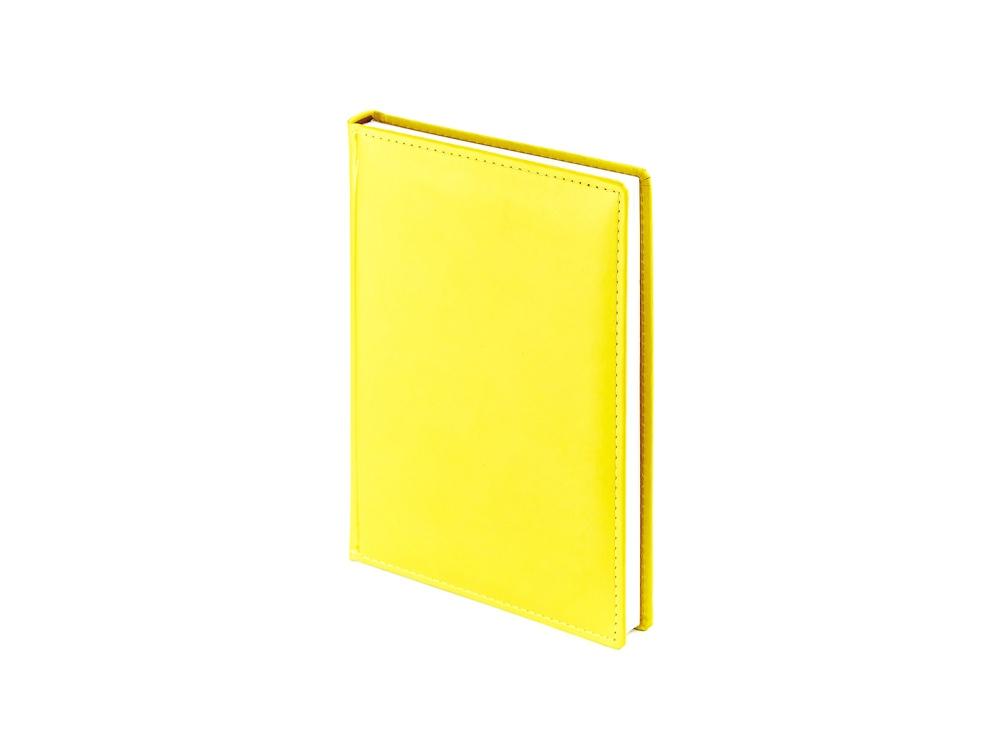 Ежедневник недатированный А5 «Velvet», желтый