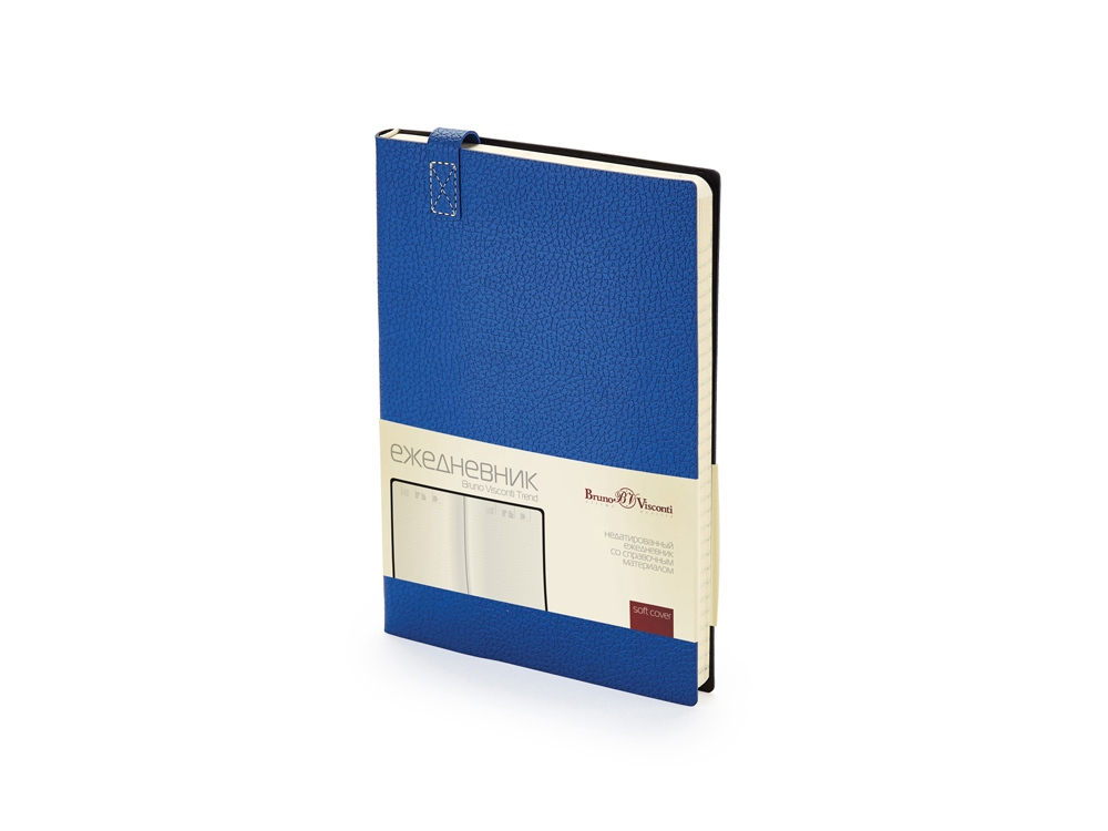 Ежедневник А5 недатированный «Trend», синий