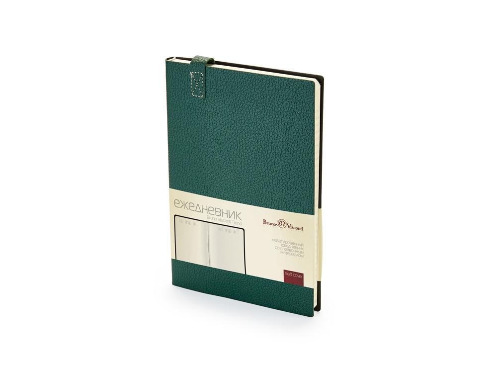 Ежедневник А5 недатированный Trend, зеленый