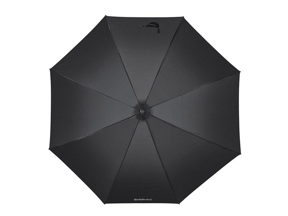 Зонт-трость полуавтомат. Baldinini, черный