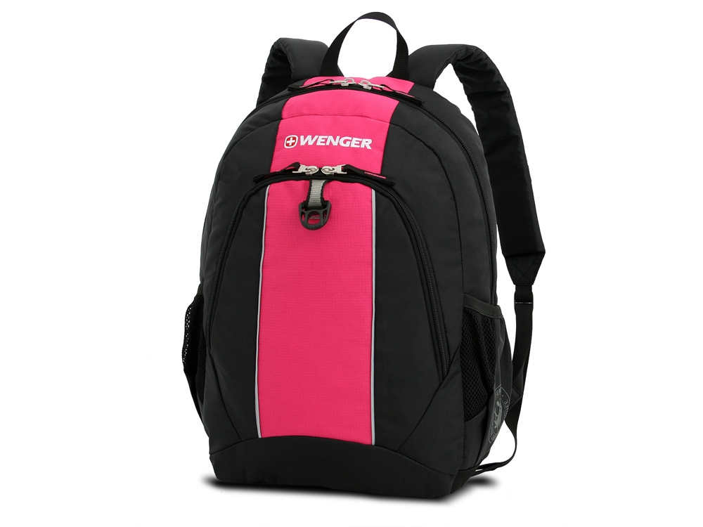 Рюкзак 20л. Wenger, черный/розовый