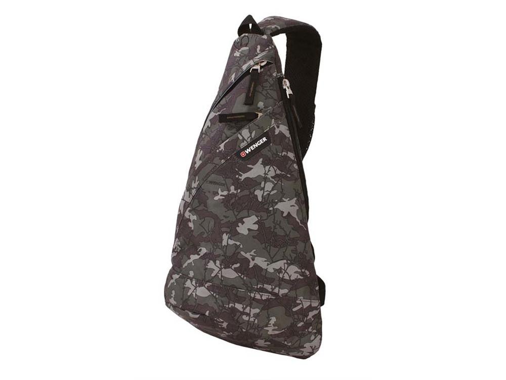 Рюкзак с одним плечевым ремнем 7л. Wenger, камуфляж