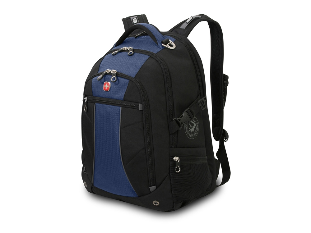 Рюкзак 32л с отделением для ноутбука 15''. Wenger, черный/синий