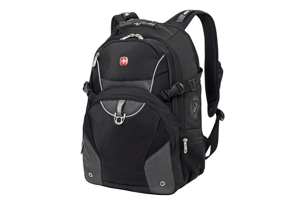 Рюкзак 32л с отделением для ноутбука 15''. Wenger, черный/серый