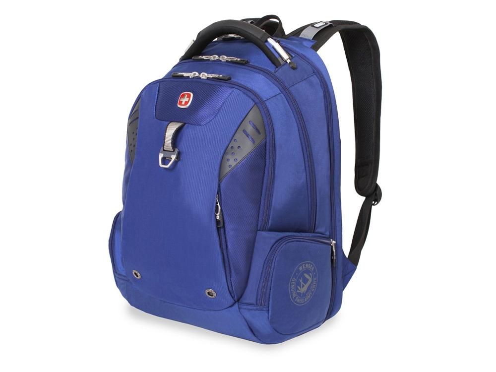 Рюкзак ScanSmart 31л с отделением для ноутбука 15''. Wenger, синий