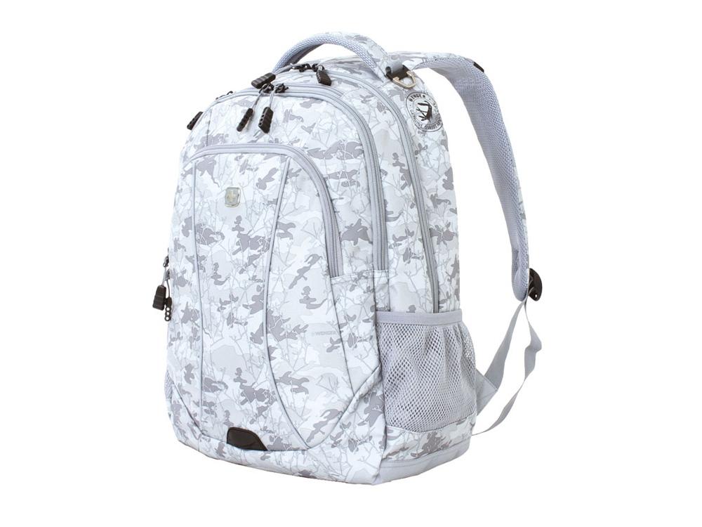 Рюкзак 34л с отделением для ноутбука 15''. Wenger, серый камуфляж