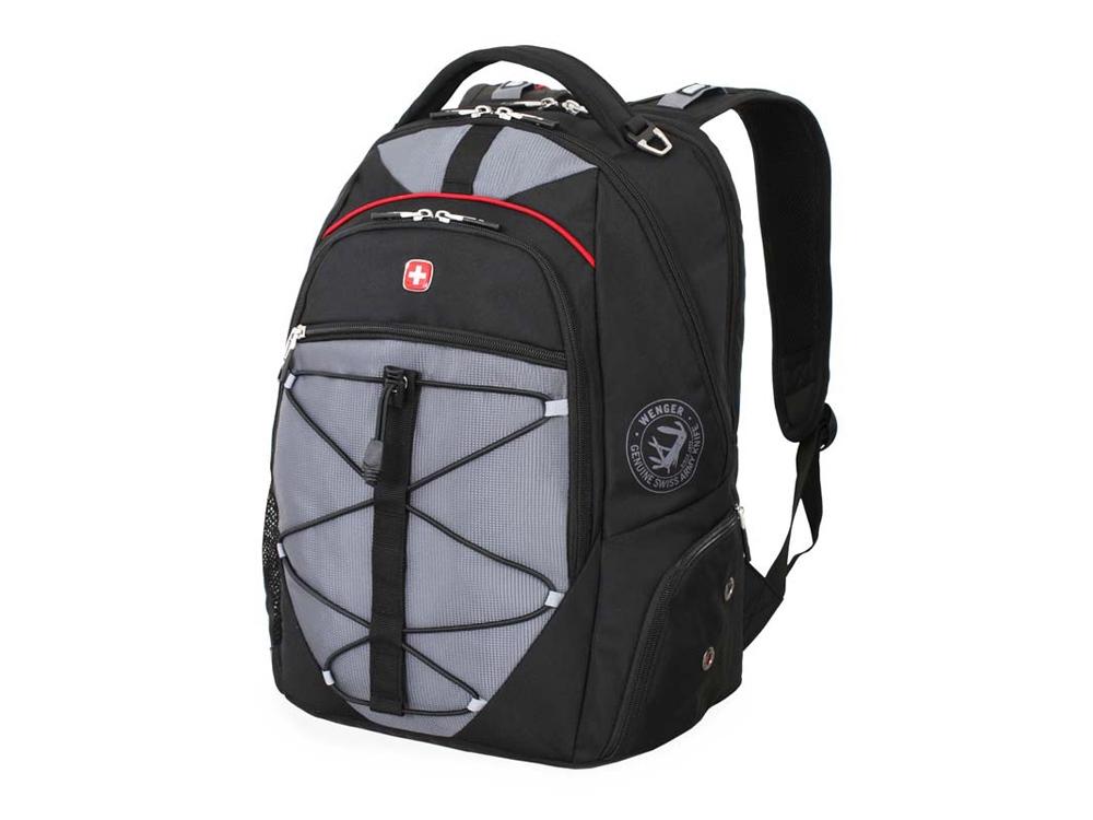 Рюкзак 30л с отделением для ноутбука 15''. Wenger, черный/серый