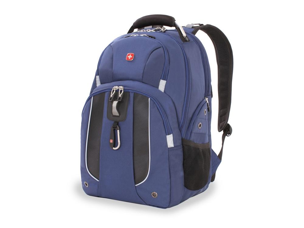 Рюкзак 26л с отделением для ноутбука 15. Wenger, синий/черный