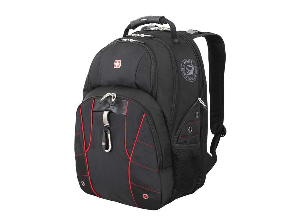 Рюкзак ScanSmart 29л с отделением для ноутбука 15. Wenger, черный/красный